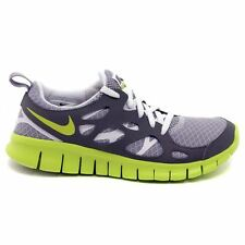 Nike Free Run 2 Grey Youths Trainers - 443742-022