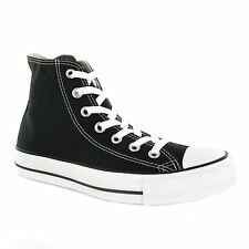 Converse Chuck Taylor All Star Hi Black Canvas Mens Trainers