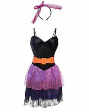 80's Pop Star Ladies Fancy Dress Costume Size 8 10 12 14