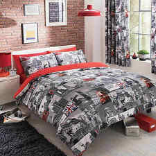 London City Duvet Cover Quilt Cover Bedding Set Single Double King Super By GC