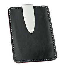 CREDIT CARD HOLDER MONEY CLIP Mens Womens Business Case Gift New Boxed ENGRAVED
