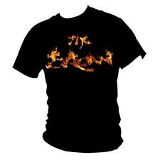 "THE CROW Brandon Lee ""Burning Crow"" Cult Film t-shirt Mens all sizes"