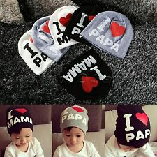 Soft Cotton Unisex Kids Hat Newborn Baby Toddler Infant Boy Girl Cap Beanie Hats