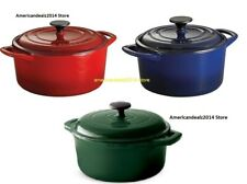 Tramontina 5.5-Quart Enameled Cast Iron Dutch Oven with Lid - NEW