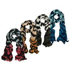 Premium Two Tone Wave Scarf - Different Colors Available