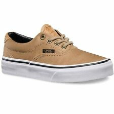 VANS ERA 59 CORK TWILL KHAKI BOYS SKATE SHOES KIDS SKATEBOARD CLEARANCE