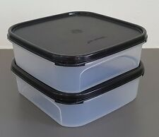 Tupperware Modular Mates SQUARE I : 1.2L (2 Pcs  - Wholesale Price!)