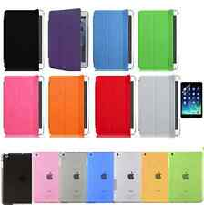 Magnetic Smart Cover Skin + Hard Back Case Stand for Apple iPad  Air 2
