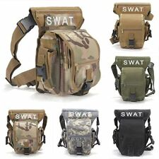 For SWAT Multi-Purpose Weapons &Tactics CS Leg Drop Utility Bag Thigh Pack Pouch