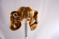 """SIZE 8""""- 9"""" NANCY STYLE #24- LIGHT BROWN AND HONEY BLONDE - DOLL WIG"""