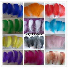 Wholesale 40-1000pcs natural goose feather floating 10-15cm / 4-6inch