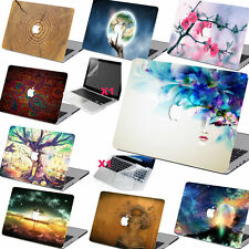 Cool Pattern Rubberized Hard Case Cover +KB +SP for Macbook Pro Air 11 12 13 15
