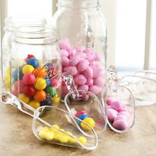 6Piece Clear Acrylic Plastic Scoops Candy Sweets Party Wedding Buffet NEW