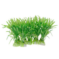 Aquascape Realistic Green Plastic Aquarium Plants Fish Tank Ornament