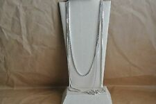 Nickel-Free Sterling Silver Box Chain Necklace (2mm) 1pc