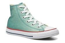Kids's Converse Chuck Taylor All Star Hi Hi-top Trainers in Green