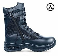 "RIDGE AIRTAC PLUS ZIPPER TACTICAL DUTY 8"" BOOTS 8055Z * ALL SIZES - M/W 4-15"
