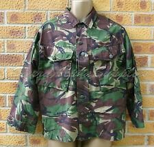 BRITISH ARMY SURPLUS G1 SOLDIER 95 DPM WOODLAND CAMO POLYCOTTON COMBAT SHIRT