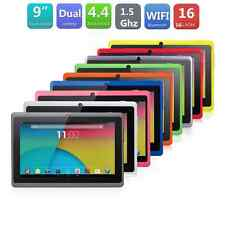 "9"" inch Android4.4 A33 Quad Core 512+ 8GB Dual Camera Wifi Tablet PC US Pink"