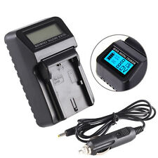 LCD Battery + Charger For Canon LP-E6 EOS 70D 60Da 5D Mark III 5DS R 7D Mark II