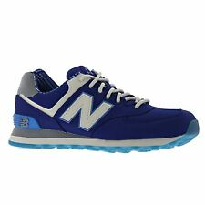 New Balance Classics Traditionnels Blue White Mens Trainers