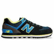New Balance 574 Outside In Classics Traditionnels Black Multi Mens Trainers