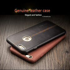 Luxury Genuine Leather Ultra-thin Stand Case Cover for Apple iPhone 6/6S 6+ Plus