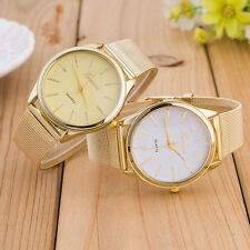 GENEVA GOLD WATCH WOMENS WATCH LADIES WATCH DRESS WATCH HOT FASHION WRIST WATCH