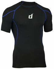 Didoo Men's Compression Shirts Half Sleeves Tops Under Layers Fitness Wear 2016