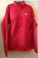 NEW The North Face Womens Flux Powerstretch  Summit Series 1/4 Zip Large  $120
