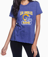 Los Angeles Rams Throwback High Quality Heat Graphic T-Shirt Women's
