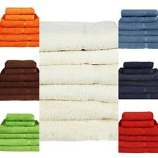 100% EGYPTIAN COTTON TOWEL LUXURY COMBED SUPERSOFT 500 GSM HAND BATH TOWEL SHEET