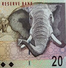 SOUTH AFRICA 20 RAND BANKNOTE 2009 ELEPHANT on MONEY uncirculated Currency