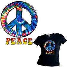 Peace Batik TieDye Ladies Girl T-Shirt 3199