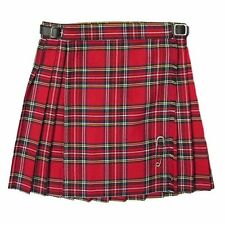 New Girls Pleated Royal Stewart Tartan/Plaid Scottish Kilt Skirt Ages 2 - 14