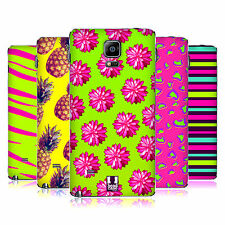 HEAD CASE DESIGNS NEON PRINTS REPLACEMENT BATTERY COVER FOR SAMSUNG PHONES 1