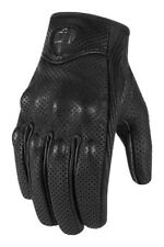 Icon Pursuit Touchscreen Perforated Leather Gloves 2013