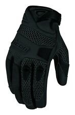 Icon Womens Anthem Mesh Leather Gloves 2013
