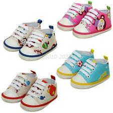 0-18 Month Baby Infants Cute Cartoon First Walking Shoes Soft Sole Crib Shoes