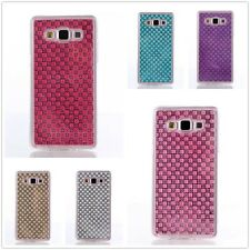 1X Jewelry Crystal Skin Clear Soft TPU Gel Case Cover For Samsung Galaxy Phones