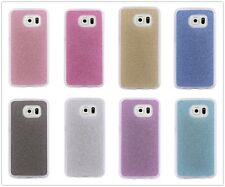 For Samsung Luxury Bling Glitter Soft Silicone Rubber TPU Gel Back Case Cover