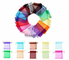 9X10cm Luxury Organza Gift Bags Wedding Party Favour Jewellery Packing Pouches