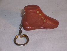 Vintage 3 Feet in One Shoe Tape Measure Boot Key Chain