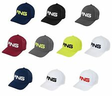 PING TOUR STRUCTURED HAT FITTED GOLF CAP - PICK SIZE AND COLOR  - NEW 2016