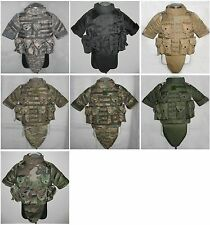 US Army Military Tactical Airsoft Paintball OTV Combat Vest Multi Colors