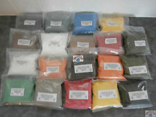 Powder paints various colours, sparkles also available
