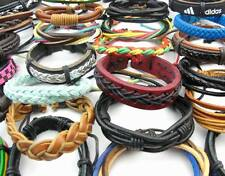 Wholesale Mixed Fashion Style Surfer Cuff Ethnic Tribal Leather Bracelets Gifts