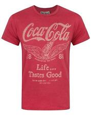 Junk Food Coca Cola Life Tastes Good Men's T-Shirt