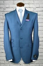 Mod Suit Skinhead Suit bmb Turquoise Two Tone Slim Fit Three Button Suit 34 - 52