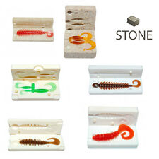Hand injector soft plastic bait molds ebay for Fishing worm molds